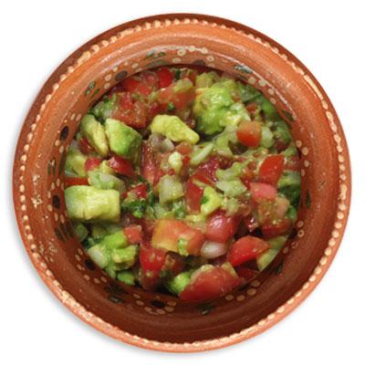 Salsa Mexicana con Aguacate