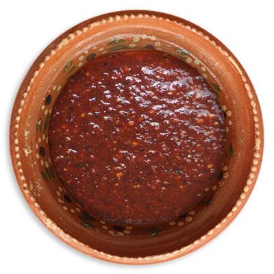 Salsa Roja con Chile